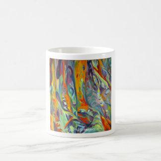 Raíces del Banyan de la taza de la bella arte