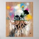 Raíces del cráneo poster