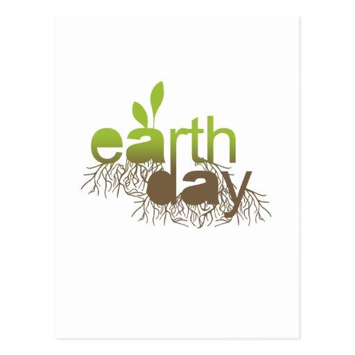 Raíces del Día de la Tierra Postales