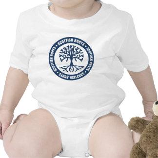 Raíces escocesas trajes de bebé