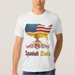 Raíces españolas americanas playera