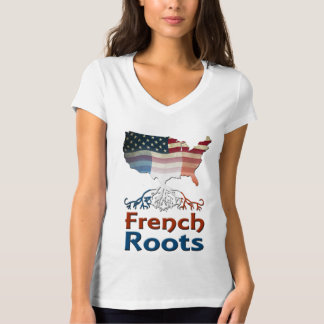 Raíces francesas americanas polera