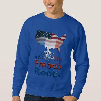Raíces francesas americanas sudadera