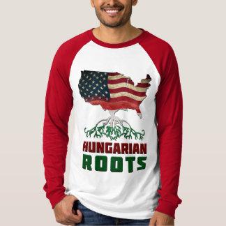 Raíces húngaras americanas playera
