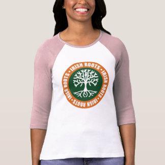 Raíces irlandesas tee shirt