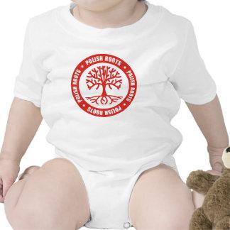 Raíces polacas traje de bebé