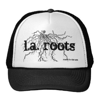 raíces, raíces de l.a., hechas en los E.E.U.U. Gorro