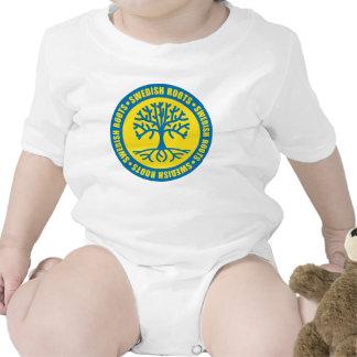 Raíces suecas trajes de bebé