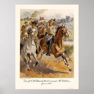 Raid de general Estuardo de Henry Alexander Ogden Posters