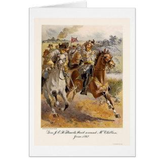 Raid de general Estuardo de Henry Alexander Ogden Tarjeta De Felicitación