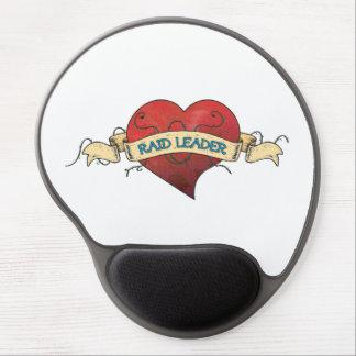 RAID LEADER Tattoo - Heart Gel Mousepads