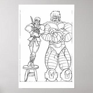 Raiden and Rytak Poster