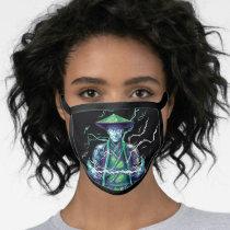 Raiden Polygonal Graphic Face Mask