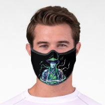 Raiden Polygonal Graphic Premium Face Mask