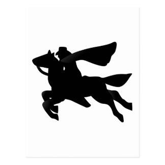 Raider Silhouette Postcard