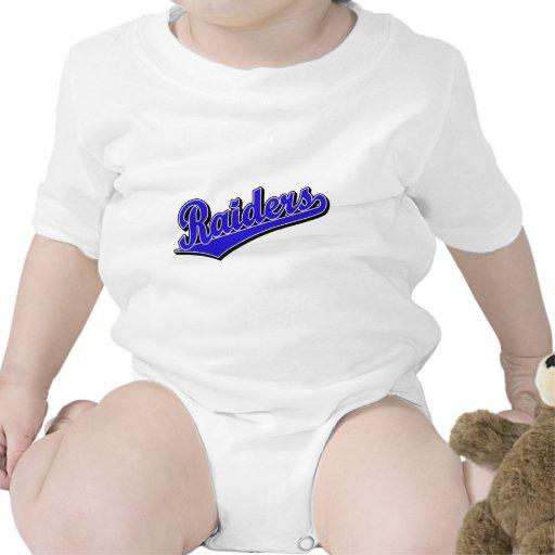 Raiders in Blue Baby Creeper