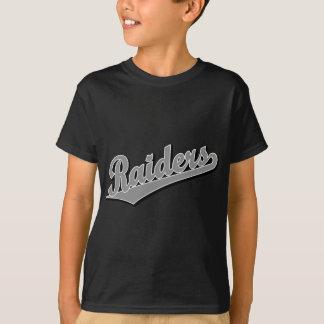 Raiders in Gray T-Shirt