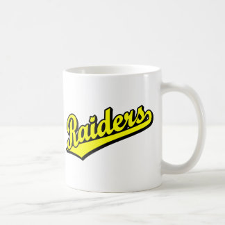 Raiders in Yellow Coffee Mug