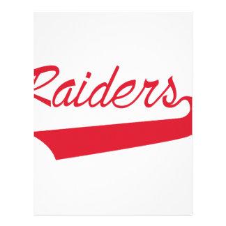 Raiders Letterhead
