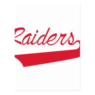 Raiders Postcard
