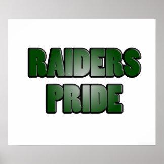 Raiders Pride Poster