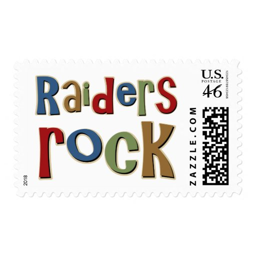Raiders Rock Stamp