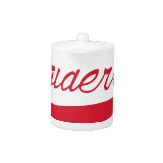 Raiders Teapot