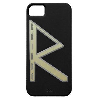Raidho Rune gold iPhone SE/5/5s Case