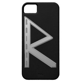 Raidho Rune grey iPhone SE/5/5s Case