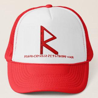 Raidho Rune red Trucker Hat