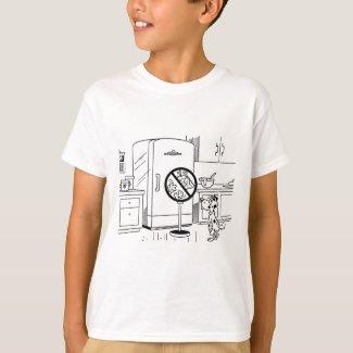Raiding Refrig Cartoon T-Shirt