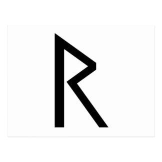 RAIDO RUNE POSTCARD