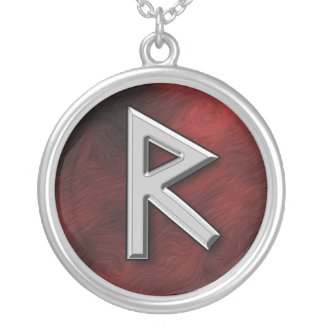 Raido Silver Plated Necklace