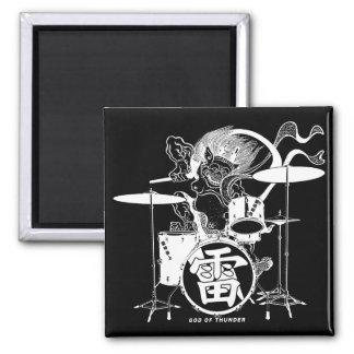 RAIJIN The Drummer B Magnet