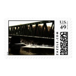 Rail Bridge Stamp