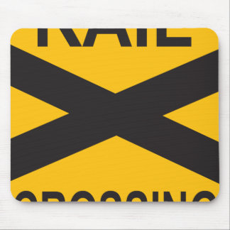 Rail Crossing Mouse Pad
