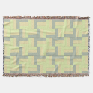 Rail Fence 1 Quilt Patterned Throw