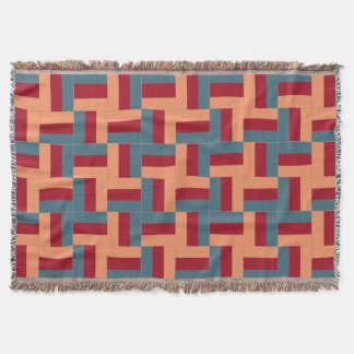 Rail Fence 2 Quilt Patterned Throw