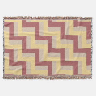Rail Fence 3 Quilt Pattern Throw