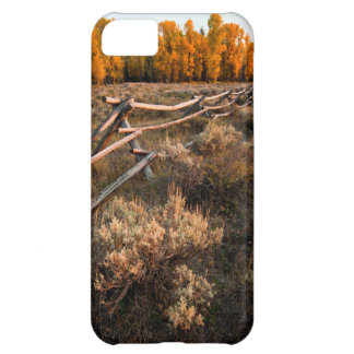 Rail Fence Across Sage Brush In Grand Teton Case For iPhone 5C