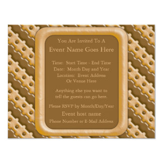 Rail Fence - Chocolate Peanut Butter Card