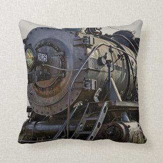 Rail Iron Throw Pillow