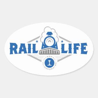 Rail Life ™ Sticker - Oval
