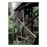 Rail Road Bridge Card