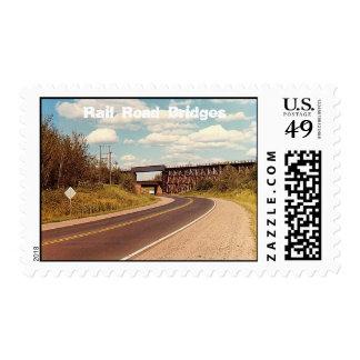 Rail Road Bridges Stamps