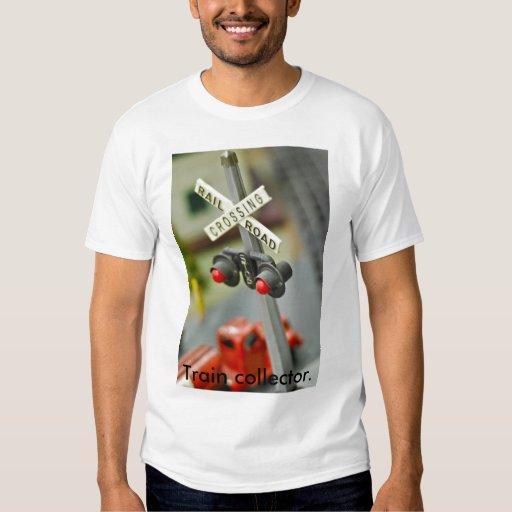 Rail Road Crossing, Train collector. T-shirt