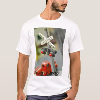 Rail Road Crossing, Train collector. T-Shirt