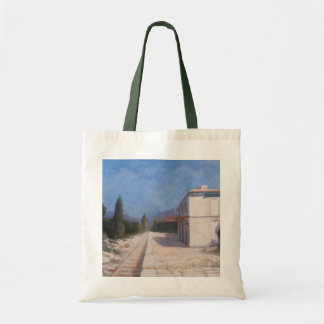 Rail station Châteauneuf 2012 Tote Bag