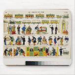 Rail Travel, c.1850 Mouse Pad