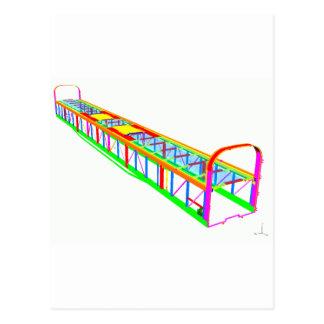 Rail vehicle FEA Postcard